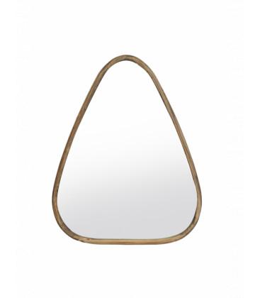 Miroir en bois triangle TALEO - Red Cartel