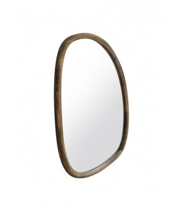 """Miroir en bois """"rond"""" TALEO - Red Cartel"""