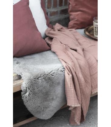 Nappe double gaze de coton BRICK - IB LAURSEN