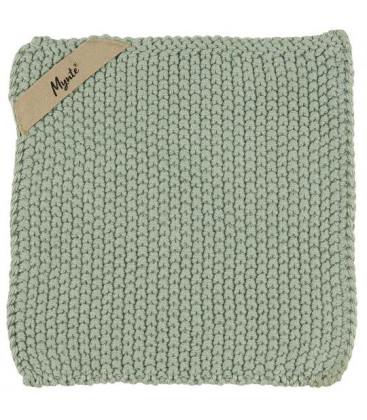 Manique en tricot Mynte dusty Green - IB LAURSEN