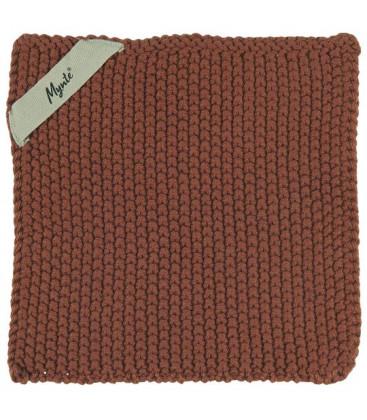 Manique en tricot Mynte rustic Brown - IB LAURSEN