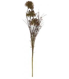 Fleurs tons marron/vert - IB LAURSEN