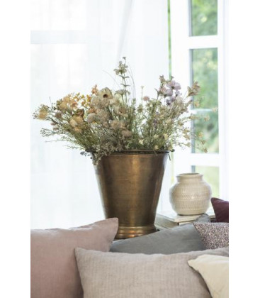 Fleurs tons blanc/vert - IB LAURSEN