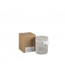 CALM Bougie parfumée Ø6xH7 cm - Ylang Ylang - AFFARI
