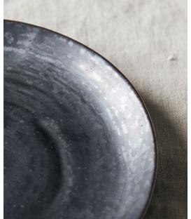 Assiette à Dessert PION NOIRE/MARRON - Diam 16,5 cm - HOUSE DOCTOR