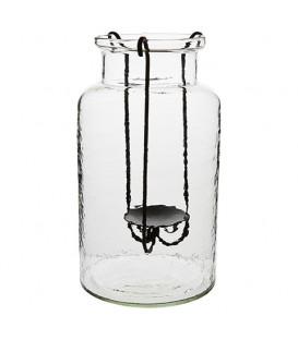 THOR vase avec bougeoir Ø20xH35 cm - AFFARI