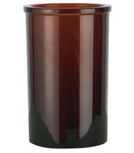 Timbale en verre fumé - IB LAURSEN