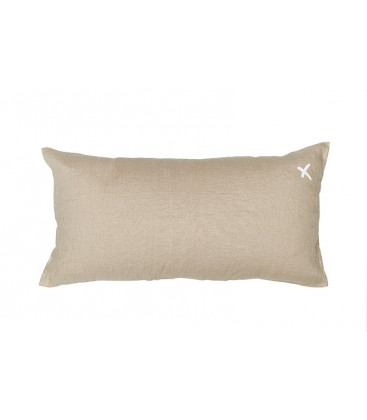 LOVERS X Coussin 55x110 en lin - Naturel - BED AND PHILOSOPHY