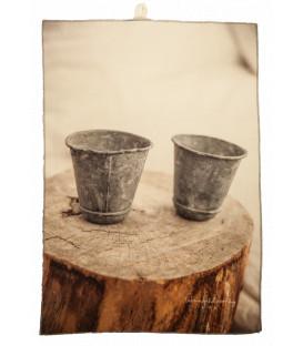 CHEF Torchon Printe coton 40X65 Pots - BED AND PHILOSOPHY