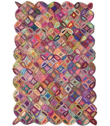 Tapis Cameo Multicolore - THE RUG REPUBLIC