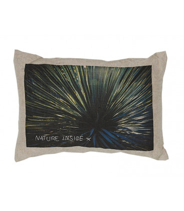 Coussin NATURE INSIDE en lin Nature Inside TOUKTOUK - BED AND PHILOSOPHY