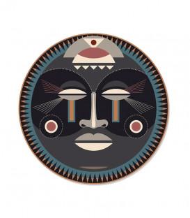 Set de Table Rond Massaï XS Ø38 - African Tribe - PODEVACHE