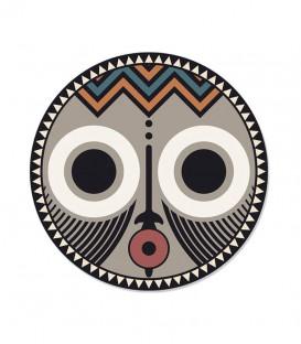 Set de Table Rond Asaro XS Ø38 - African Tribe - PODEVACHE