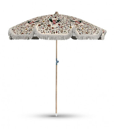 Parasol Structure Bois Tattoo Inclinable PA1 Ø200xH230 - Tatoo Compris - PODEVACHE
