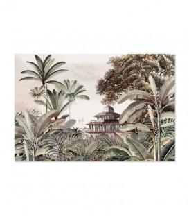 Tapis Rectangulaire Intérieur/Extérieur Vinyle D 66x99 - Pondichery - PODEVACHE