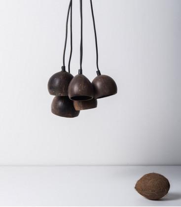 Suspension grappe en noix de coco - URBAN NATURE