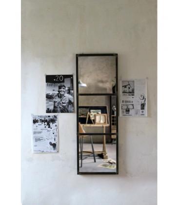 Miroir métal rectangulaire type industriel BASILE - Red Cartel