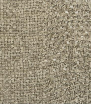 Chemin de table en lin brut ajouré 50x150cm - Dareels