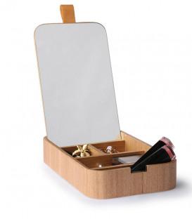 boite à bijoux en bois de saule