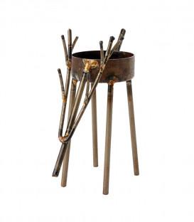 Bougeoir métal noir en forme de cerf OH DEER - AFFARI