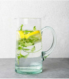 Carafe en verre transparent recyclé - URBAN NATURE CULTURE