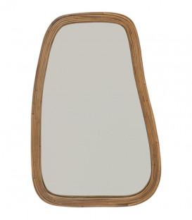 Miroir en rotin naturel taille L - 61x90cm - URBAN NATURE CULTURE