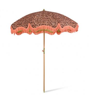 Parasol vintage avec franges -Doris / Fleurs - HK Living