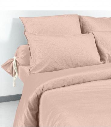 Taies d'oreiller et de traversin en Coton lavé - 21 coloris - Vent du Sud