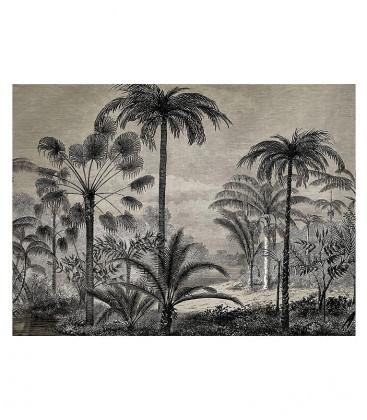 Tapis Rectangulaire Beaumont Amazonia Vinyle D 66x99 - Botanical Rétro - PODEVACHE